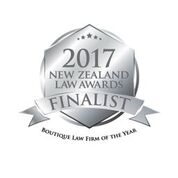 Finalist Boutique Law Firm of the year 2017